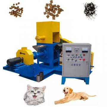 Fully Automatic Industrial Cat Birds Dog Food Animal Pet Feed Mill Machine