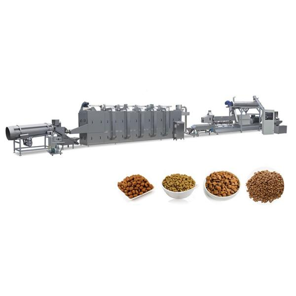 100-2500 Kg/Hr All Ages Kibble Dog Food Making Machine Pet Cat Animal Feed Production Machinery Line