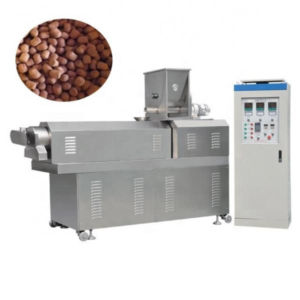 Puffing Pet/Dog/Cat Floating Fish Pellet Feed/Food Making Extruding Machine